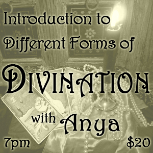 Introduction to Different Forms of Divination.