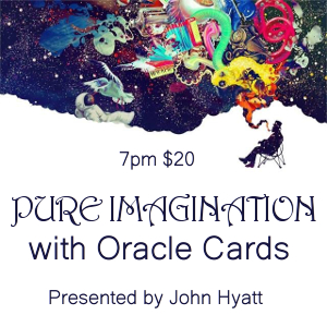 Pure Imagination with Oracle Cards