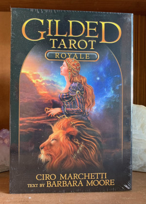 Gilded Tarot Royale (Book and Tarot Deck Set)