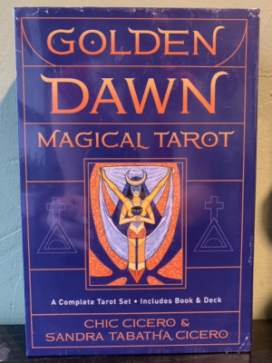 Golden Dawn Magical Tarot Set (Deck and Book)