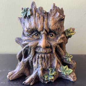 Earth Goddess Candle Holder