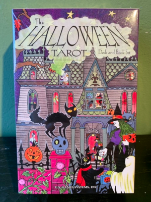 Halloween Tarot: Deck and Book