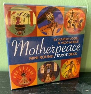 Mini Motherpeace Tarot Deck