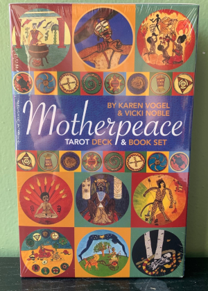 Motherpeace Round Tarot Deck & Book