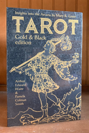 Tarot Gold & Black Edition Deckand Book Set
