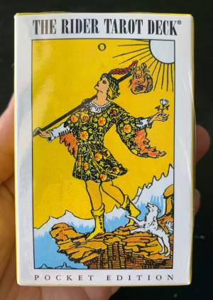 Pocket Rider Waite Tarot