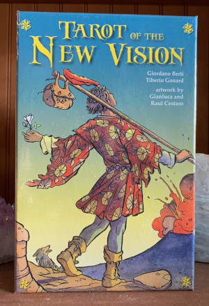 Tarot of the New Vision Deck and Book Set