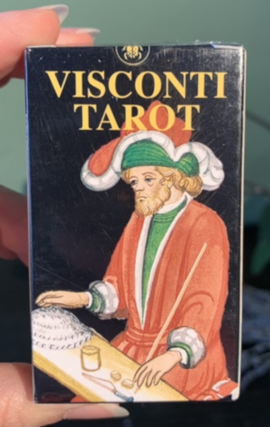 Visconti Tarot Mini Deck